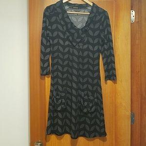 Reborn cowl tunic dress